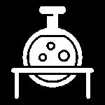 flask white icon