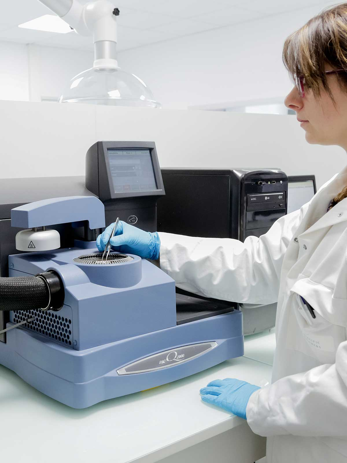 physico-chemical analyses with dsc at SPECIFIC POLYMERS