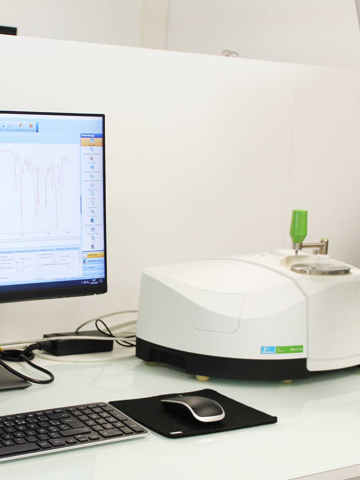 physico-chemical analyses with ftir at SPECIFIC POLYMERS